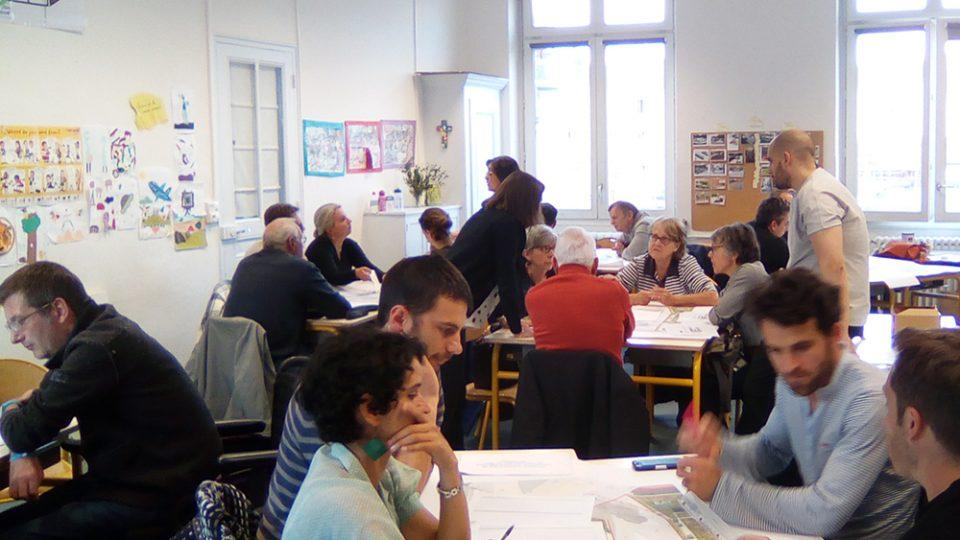 ateliers de concertation – ilôt Parmentier Lyon 7ème (69)