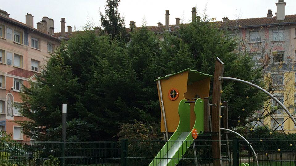 AMO – réfection des aires de jeux de 6 résidences de Lyon (69)