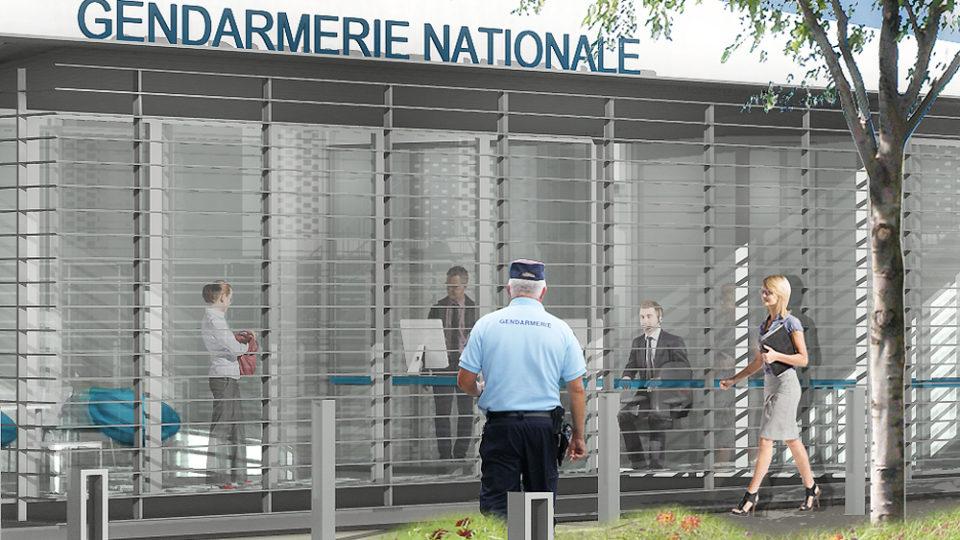 gendarmerie et logements de fonction à Capestang (34)