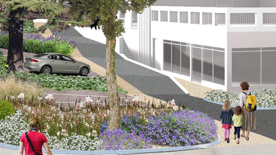 réaménagement des espaces publics de la résidence Lucien Pitance à Lyon 5ème (69)