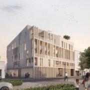 réhabilitation d'une résidence sociale de 131 logements à Villeurbanne (69)